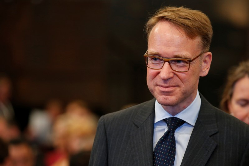 © Reuters. Deutsche Bundesbank (German Federal Bank) President Weidmann attends the 'G20 Africa Partnership – Investing in a Common Future' Summit in Berlin