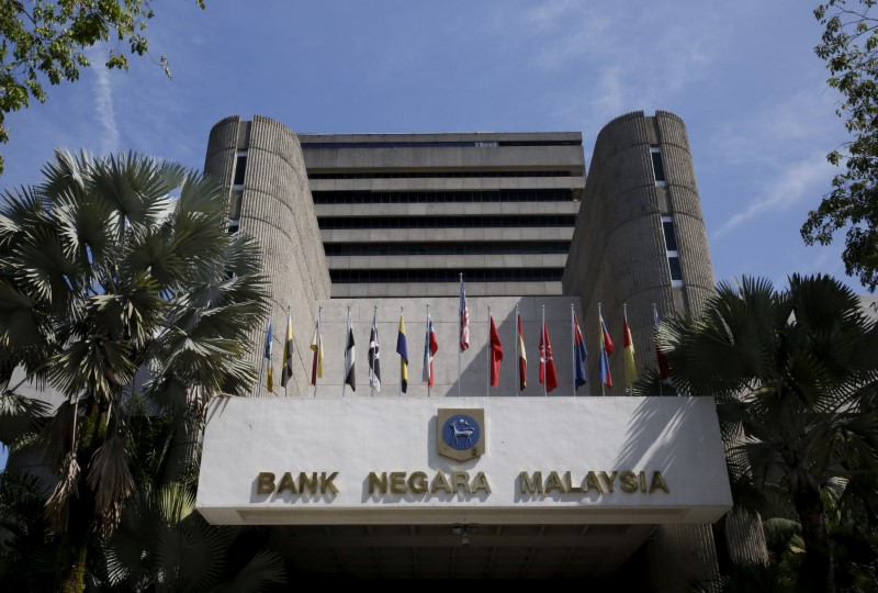 © Reuters. File photo of a general view of the Bank Negara Malaysia in Kuala Lumpur, Malaysia