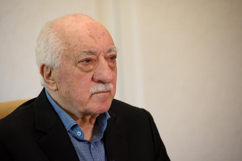 © Reuters. U.S.-based cleric Fethullah Gulen at his home in Saylorsburg