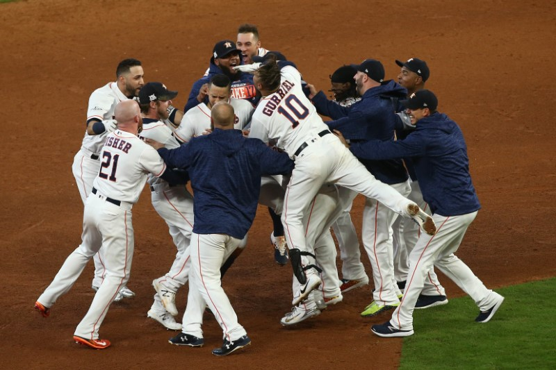 © Reuters. MLB: ALCS-New York Yankees at Houston Astros