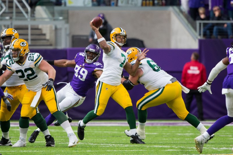 © Reuters. NFL: Green Bay Packers at Minnesota Vikings