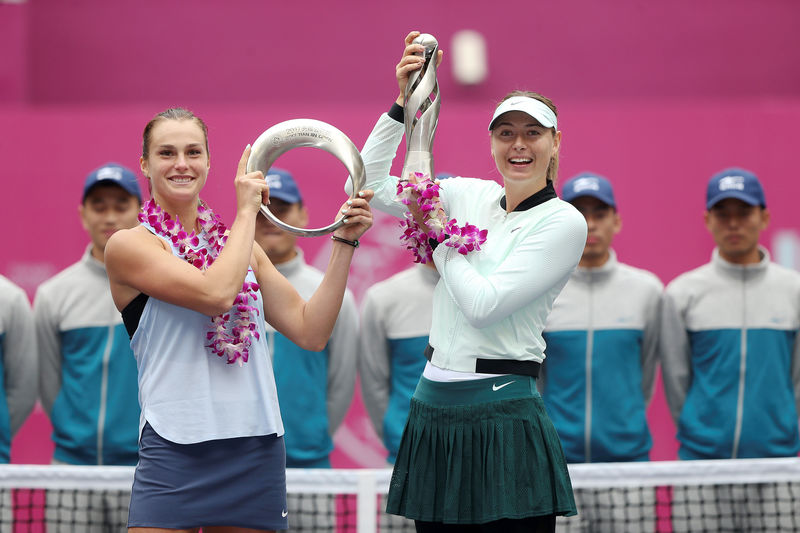 © Reuters. Tennis - Tianjin Open - Women's singles final