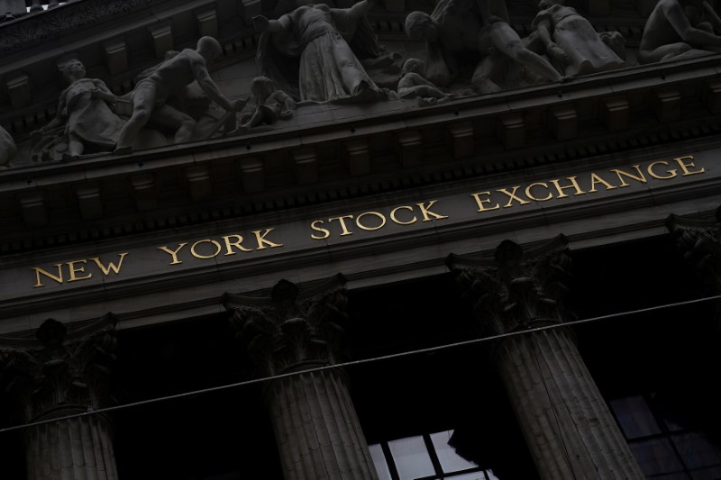 © Reuters. FILE PHOTO: The New York Stock Exchange (NYSE) is pictured in New York City