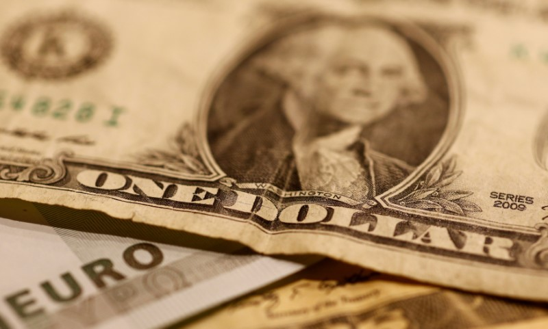 Dollar edges down as attention turns to Fed leadership