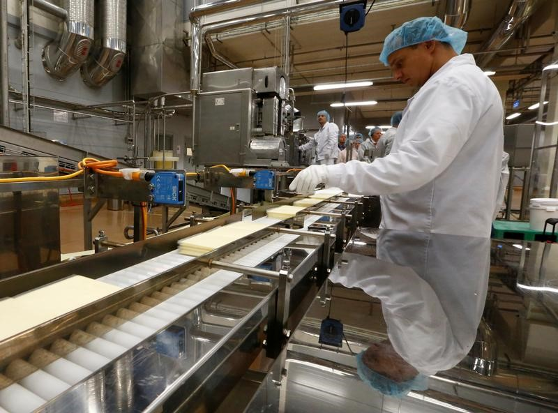 Russian manufacturing activity growth at four-month low in October: PMI