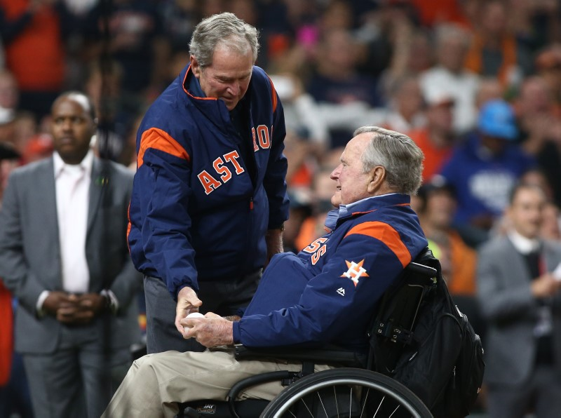 © Reuters. MLB: World Series-Los Angeles Dodgers at Houston Astros