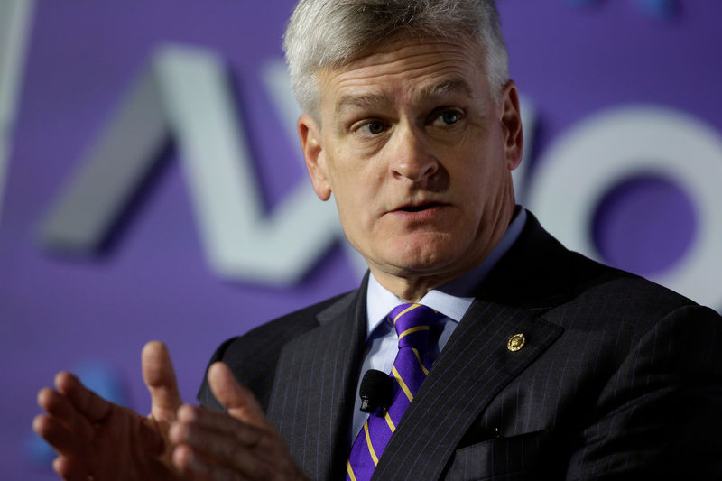 © Reuters. Senator Bill Cassidy (R-LA) speaks about healthcare reform in Washington