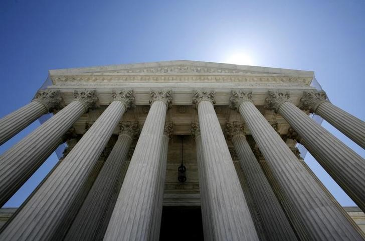 © Reuters. The Supreme Court in Washington