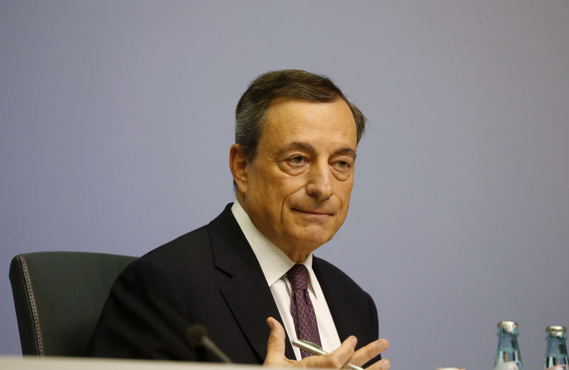 © Reuters. European Central Bank announces interest rate decision in Frankfurt