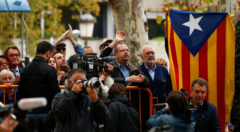 © Reuters. El Supremo da el paso que podría acumular toda la causa sobre Cataluña