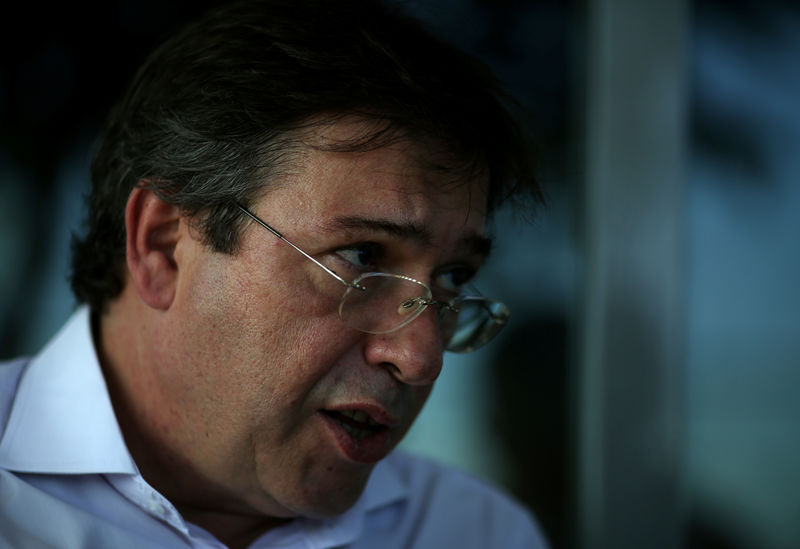© Reuters. Presidente da Eletrobras, Wilson Ferreira Jr.,  concede entrevista à Reuters no Rio de Janeiro