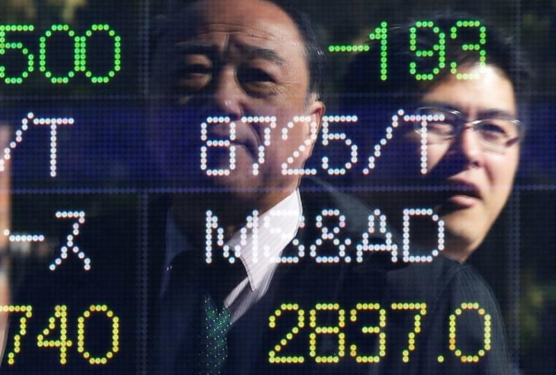 © Reuters. LE NIKKEI À TOKYO FINIT EN BAISSE DE 1,57%