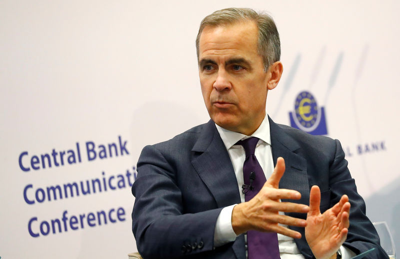 © Reuters. Mark Carney of the Bank of England attends ECB's Central Bank Communications Conference in Frankfurt