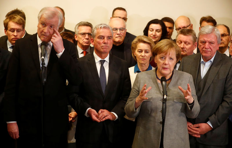 © Reuters. Exploratory talks about forming a new coalition government in Berlin