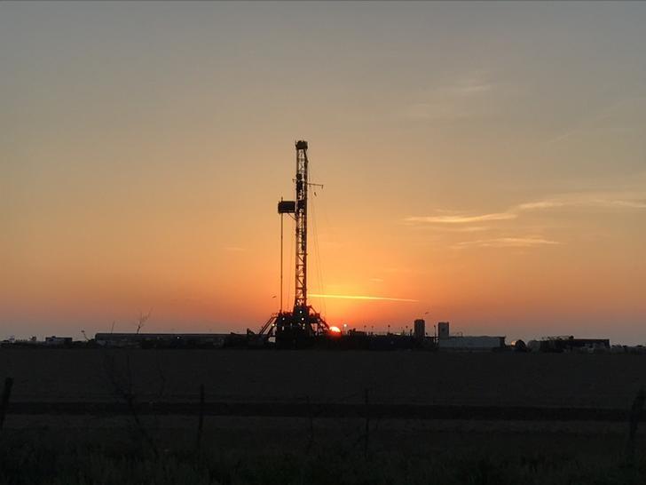 © Reuters. Sonda de petróleo perto de Midland, no Texas