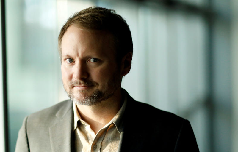 © Reuters. FILE PHOTO: Director Rian Johnson poses for a portrait while promoting the movie