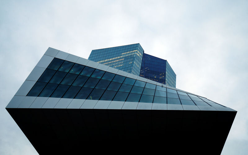 © Reuters. The European Central Bank (ECB) headquarters are pictured in Frankfurt
