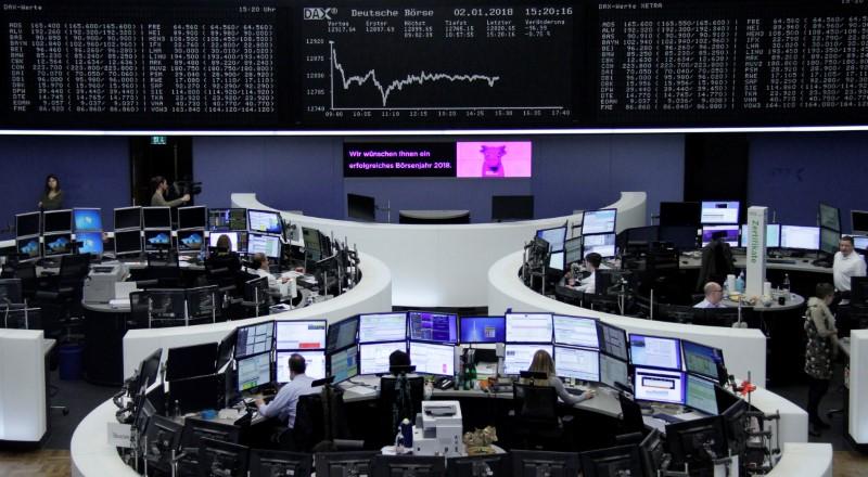 European shares post strong rebound as dollar, Wall Street rise