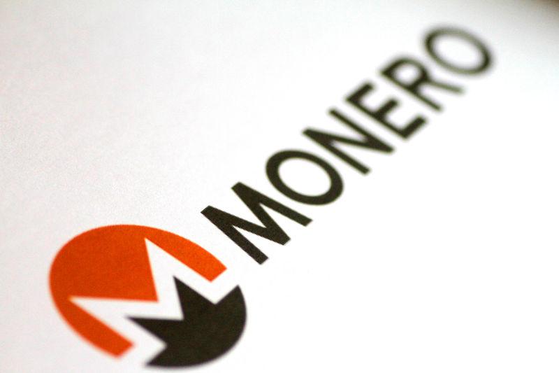 © Reuters. Illustration photo of the Monero logo