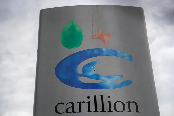 © Reuters. Carillion entraría en concurso de acreedores si el Gobierno no sale al rescate-Sky