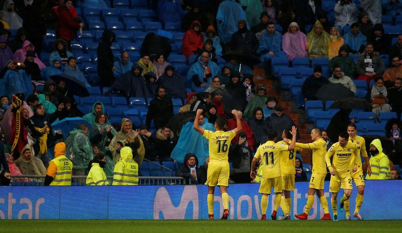 © Reuters. El Real Madrid profundiza en su crisis con una derrota en casa contra el Villarreal