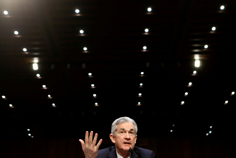 © Reuters. FILE PHOTO: Powell testifies on his nomination to become chairman of the U.S. Federal Reserve in Washington