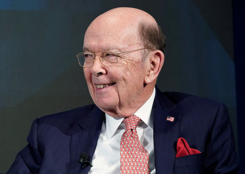 © Reuters. Wilbur L. Ross, U.S. Secretary of Commerce, attends the World Economic Forum (WEF) annual meeting in Davos