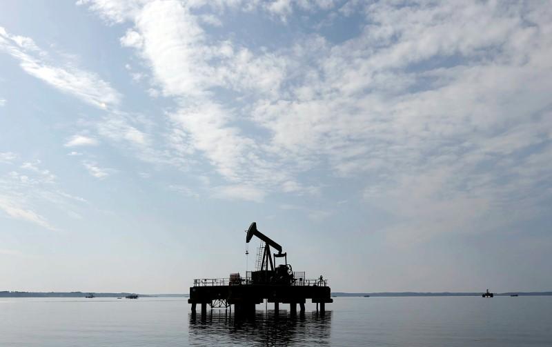 © Reuters. An oil pump jack of Canadian group Vermilion Energy is pictured in Parentis-en-Born