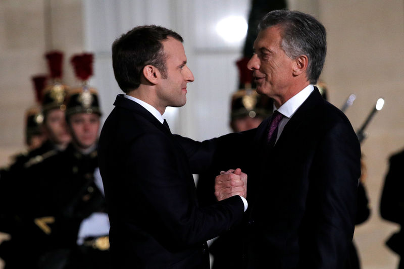 France S Macron Calls For New Eu Sanctions On Venezuela By Reuters