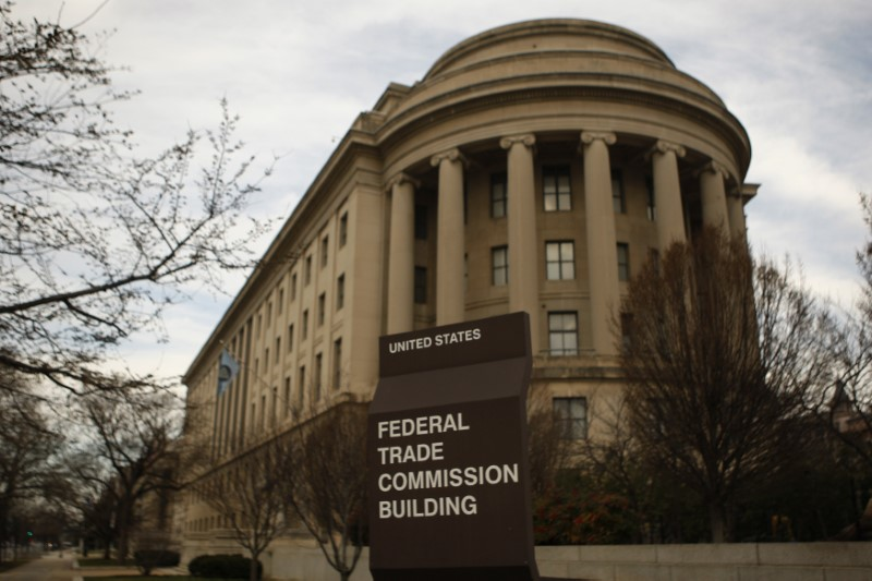 © Reuters. The Federal Trade Commission building is seen in Washington