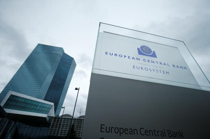 © Reuters. The European Central Bank headquarters are pictured in Frankfurt