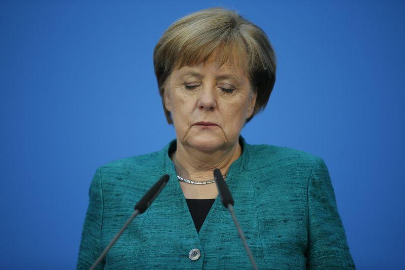 © Reuters. Coalition talks of CDU/CSU and SPD in Berlin