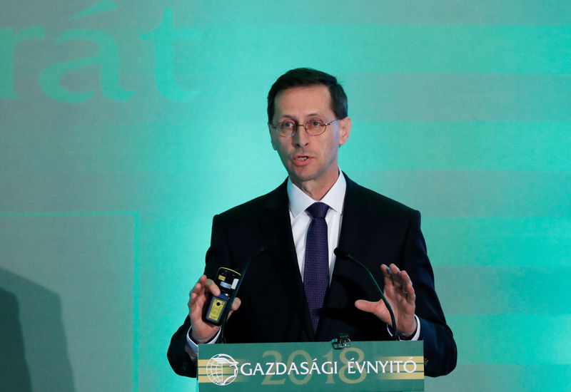 Hungary in no rush to join euro zone, minister says