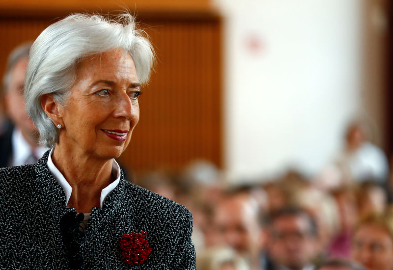 IMF's Lagarde says sees no risk of currency war: paper