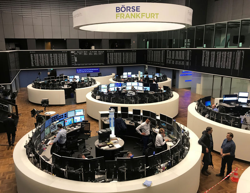 European shares feel force of tech stock sell-off