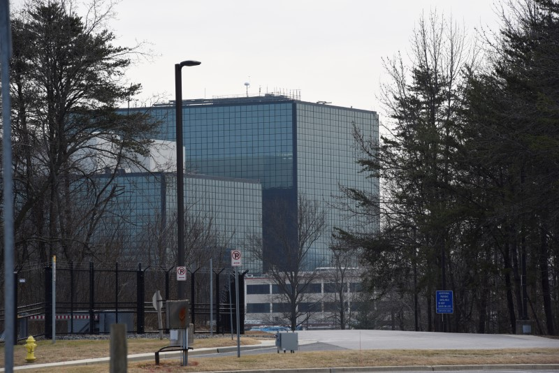 © Reuters. The National Security Agency (NSA) headquarters is seen in Fort Meade, Maryland