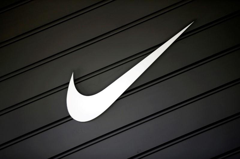 FILE PHOTO: Nike (NKE)'s logo is seen in