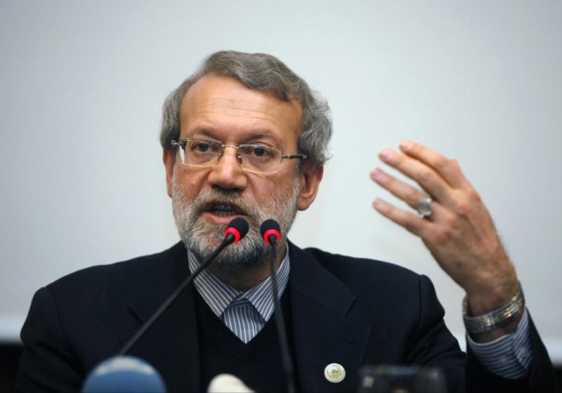 Resultado de imagem para Presidente do Parlamento iraniano, Ali Larijani