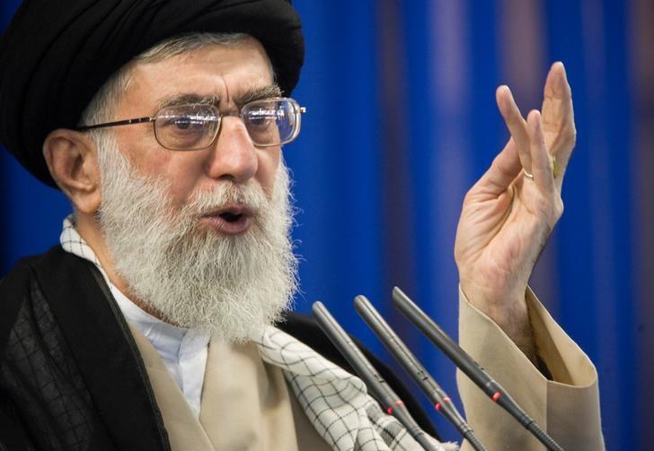 © Reuters. Líder supremo do Irã, aiatolá Ali Khamenei