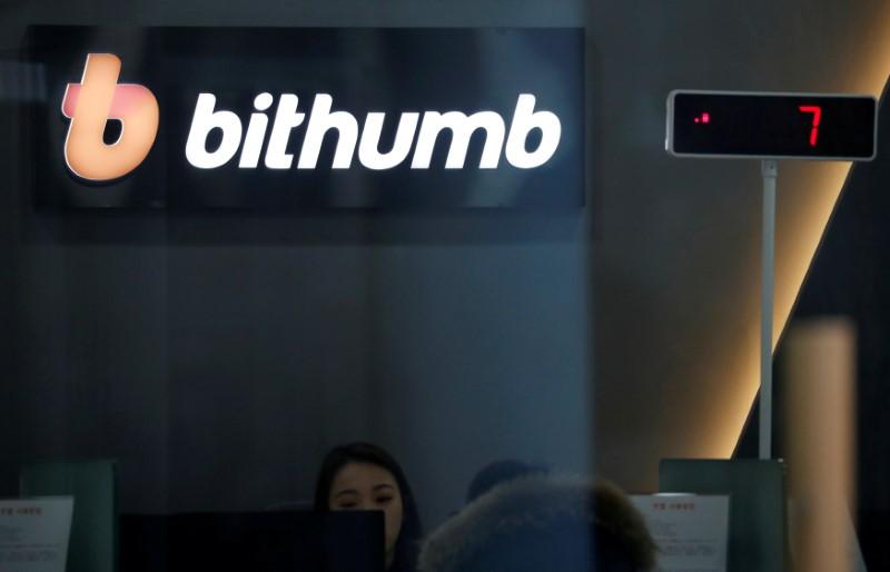 South Korea's Bithumb loses $32 million in digital money heist, bitcoin falls