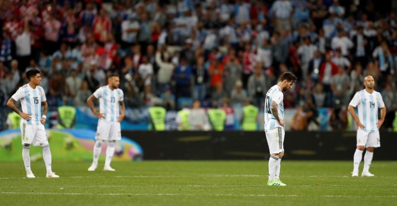 Croacia golea 3-0 a Argentina y la deja al borde de la eliminación ...