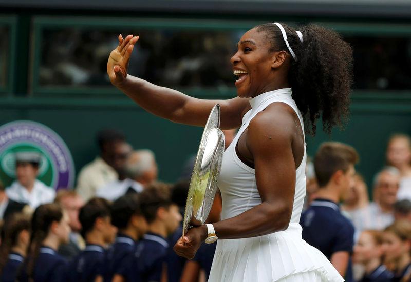 Image result for Serena seeded 25th for Wimbledon, Federer tops men's list
