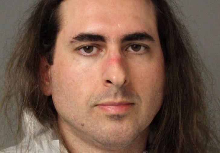 © Reuters. Jarrod Ramos in Anne Arundel Police Department booking photo in Annapolis