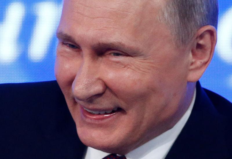 © Reuters. Presidente russo, Vladimir Putin