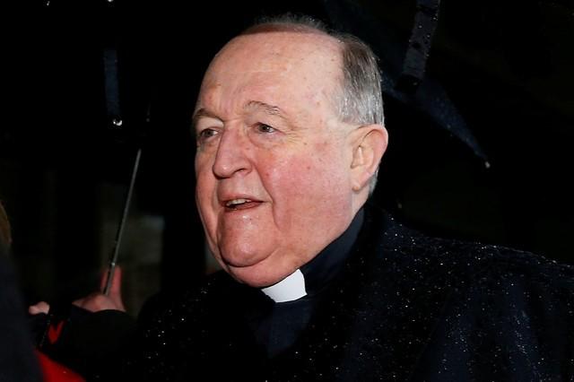 © Reuters. Arcebispo australiano Philip Wilson
