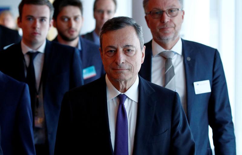© Reuters. Il presidente Bce Mario Draghi