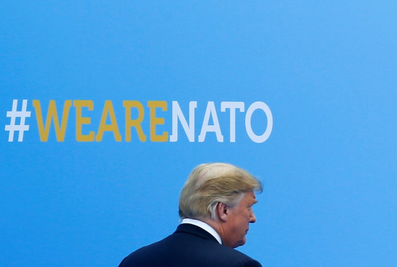 © Reuters. NATO Alliance Summit in Brussels