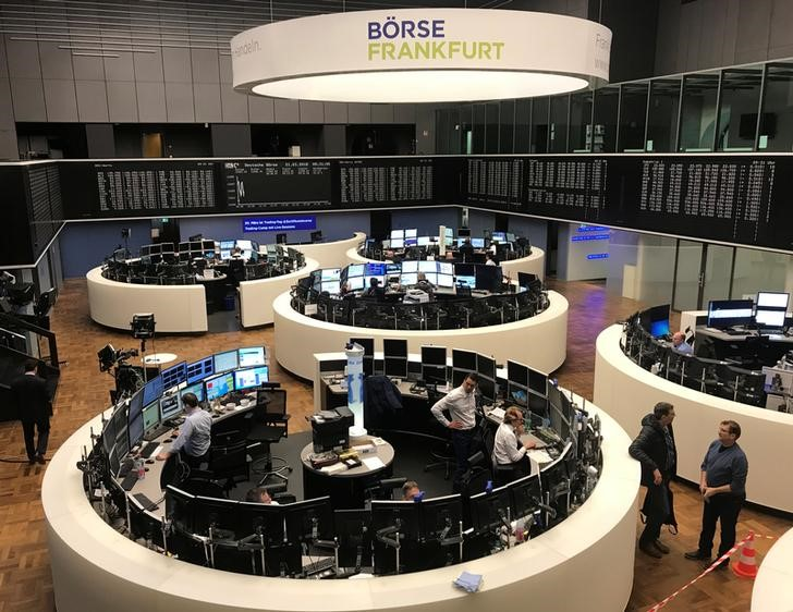 Industrials, earnings hopes help European shares shrug off China data