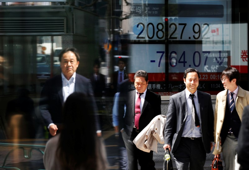 China bounce pushes world shares toward six-month high