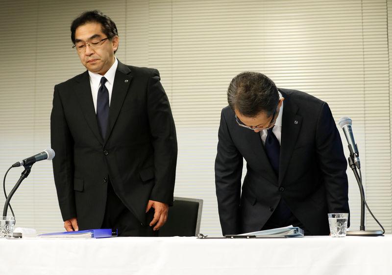 Hasil gambar untuk Mazda, Suzuki, Yamaha Motor apologize for improper vehicle tests